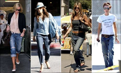 boyfriend jeans - moda mujeres