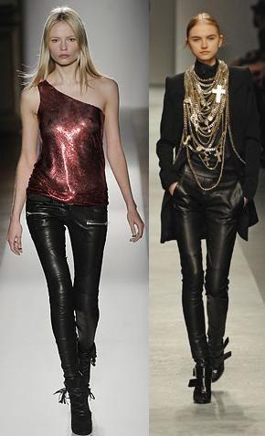 cuero - moda gotica