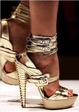 zapato de altura