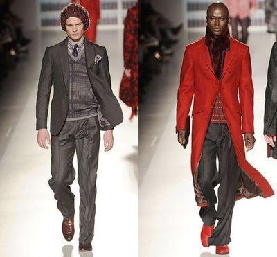abrigo para hombres