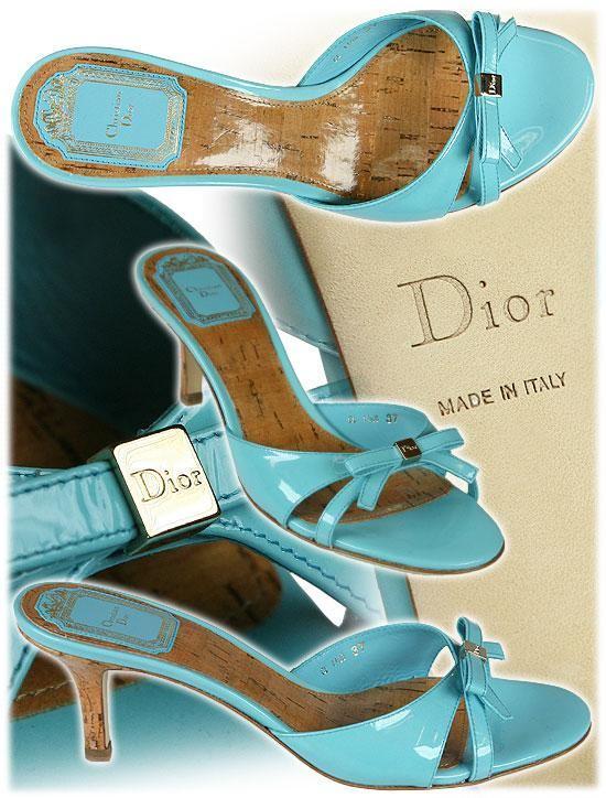 zapatos dior