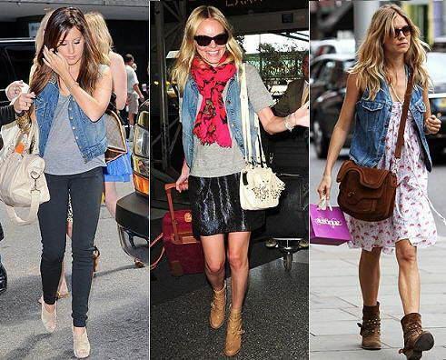 tendencias de moda chalecos vaqueros