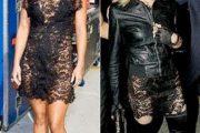 Vestido de Caroline Seikaly, ustedes eligen:¿Hayden o Maddona?