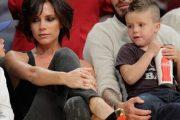 Look de Victoria Beckham en el baloncesto