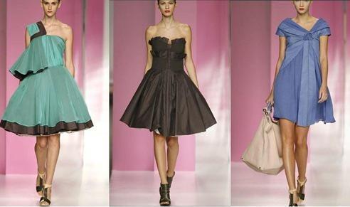 vestidos de fiesta por devota&lomba coleccion 2010 | aquimoda