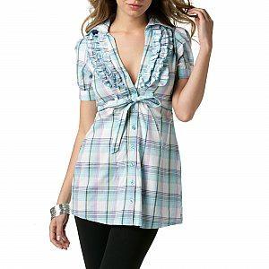 Modelos de blusas con cuadros escoceses - Cuadros juveniles baratos ...