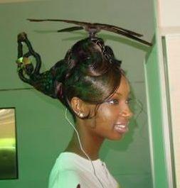 peinados raros