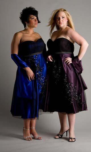 vestidos para gordas