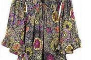 Blusas con estampados florales