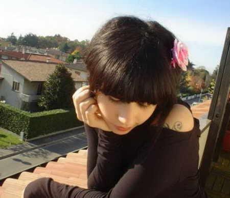 moda girls emo peinados