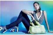 Gisele Bundchen, la modelo mejor pagada del mundo, vistiendo mallas