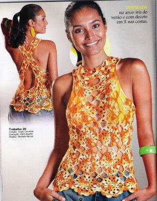 lindas blusas de moda