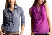 Hermosas blusas clasicas