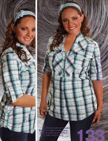 blusas hermosas para gorditas