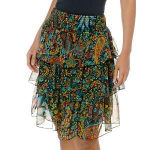 faldas con ruffles