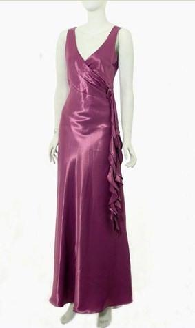 vestidos morados