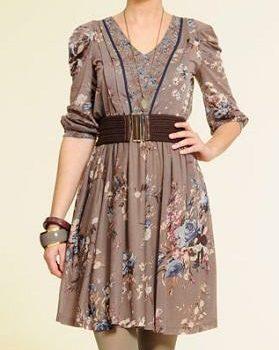 vestidos otoñales