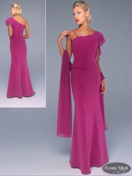 vestidos hermosos de gasa