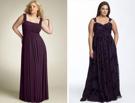 vestidos largos para gorditas