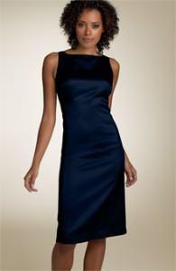 vestidos cortos de satén