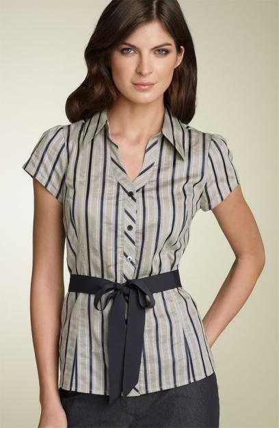 Modernas blusas casuales | Moda, vestidos de boda, complementos para ...