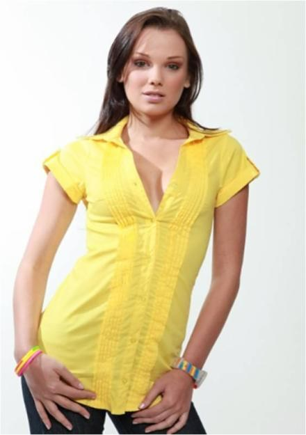 blusas modernas hermosas