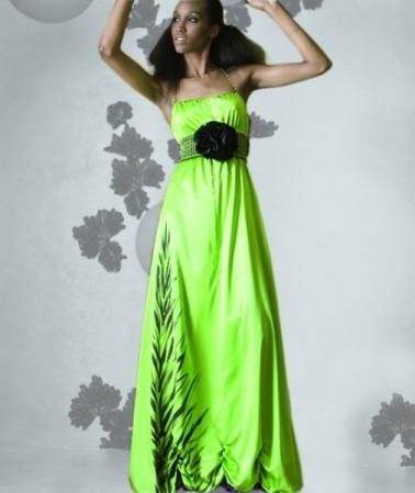 vestidos colores fuertes