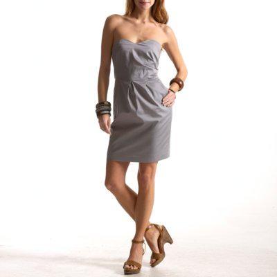 vestidos plisados casuales