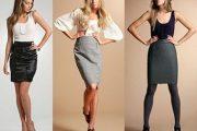 Modelos de faldas casuales