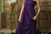 Vestidos de color morado