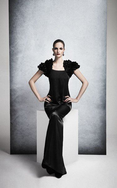 vestidos negros para ir de boda