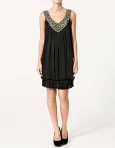 vestidos cortos color negro