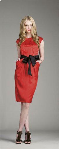 vestidos colores negros y rojos