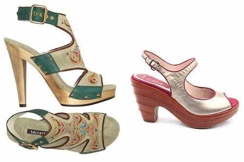 sandalias altas de verano