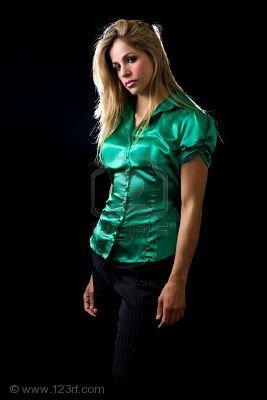 blusas hechas de saten