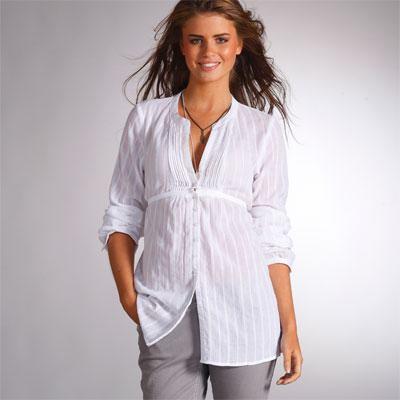 blusas largas elegantes