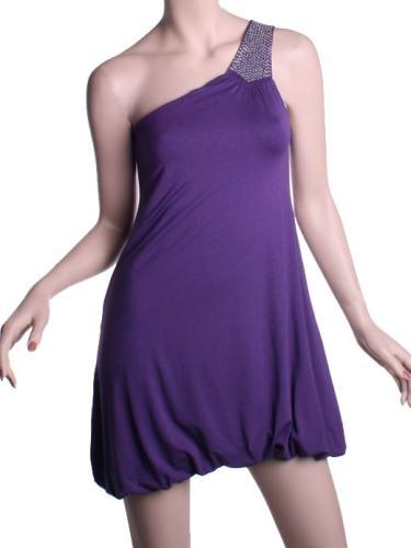 vestidos globo cortos