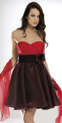 vestidos de lujo para navidad