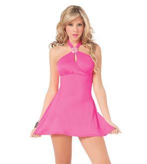 vestidos monocolor muy cortos