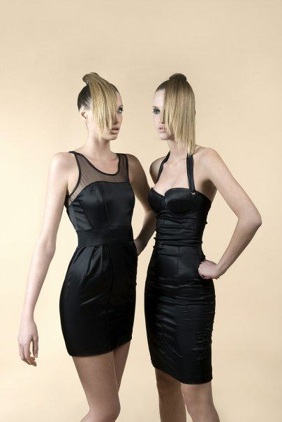 trajes negros para navidad