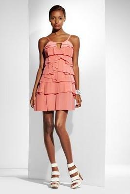 volantes en faldas y vestidos