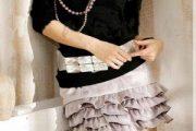 La moda de los volantes en faldas y vestidos