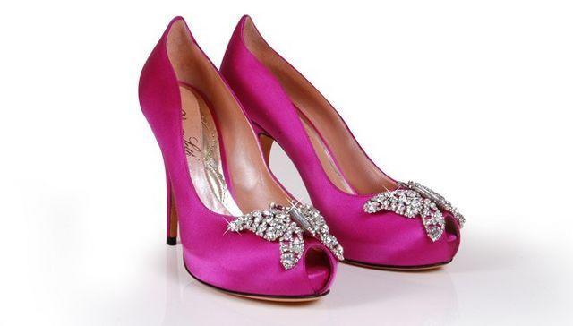 zapatos de mujer color fucsia