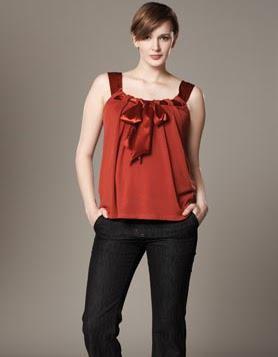 blusas de moda para embarazadas