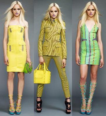 vestidos y trajes coloridos