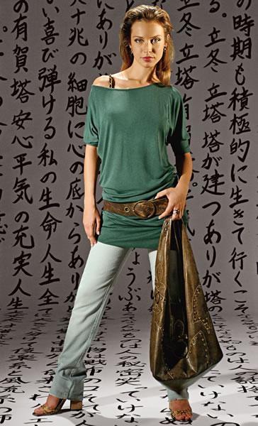 blusas de algodon