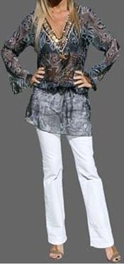 blusas grandes de moda