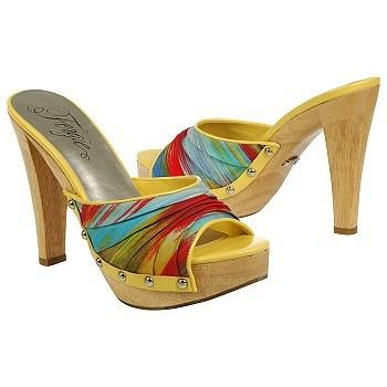 zapatos altos de colores