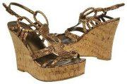 Zapatos de moda con plataforma alta