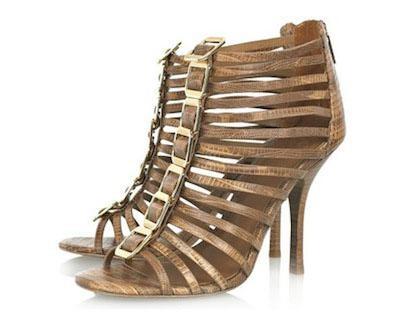 zapatos de plataforma alta